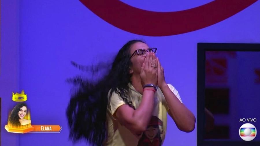 """Elana é líder pela terceira semana seguida no """"BBB19"""" - Reprodução/TvGlobo"""