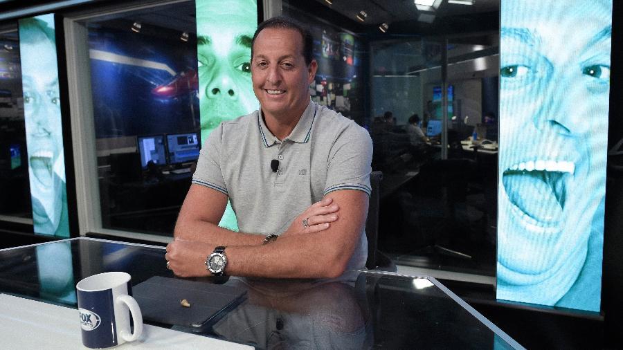 "Benjamin Back, apresentador do ""Fox Sports Rádio"" - Fox Sports"
