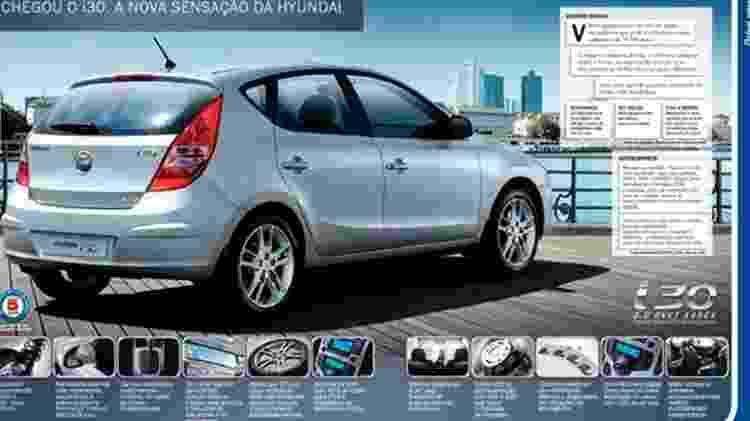 Propaganda Hyundai i30 - Reprodução - Reprodução