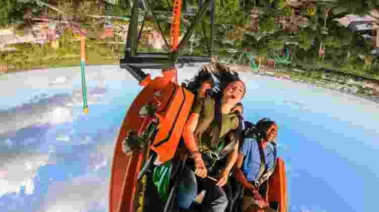 Com inauguração no dia 19 de abril, a Tigris deixará o turista de cabeça para baixo - Divulgação/SeaWorld Parks & Entertainment - Divulgação/SeaWorld Parks & Entertainment