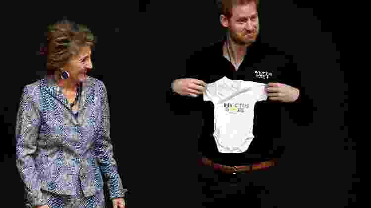 Harry recebe roupinha do Invictus Games para o filho Archie, presente da príncesa Margriet da Holanda - Reuters - Reuters
