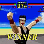 Virtua Fighter - Reprodução