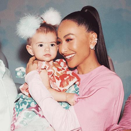 Sabrina Sato publica nova foto com a filha Zoe  - Reprodução/Instagram/@sabrinasato