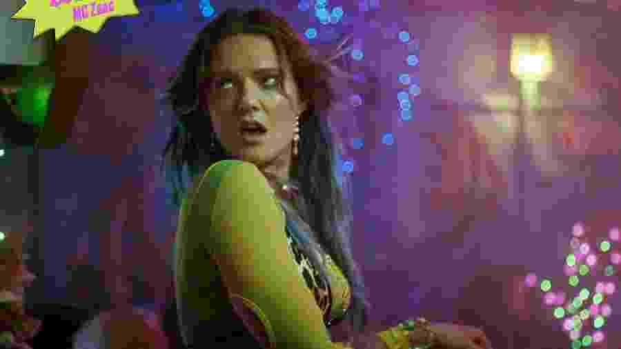 """Tove Lo em videoclipe de """"Are U Gonna Tell Her?"""", em parceria com Mc Zaac - Divulgação"""