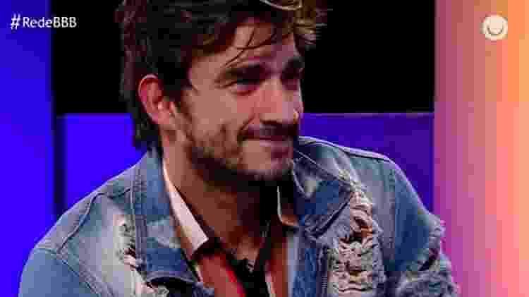 Guilherme participa da Rede BBB - Reprodução/GloboPlay - Reprodução/GloboPlay