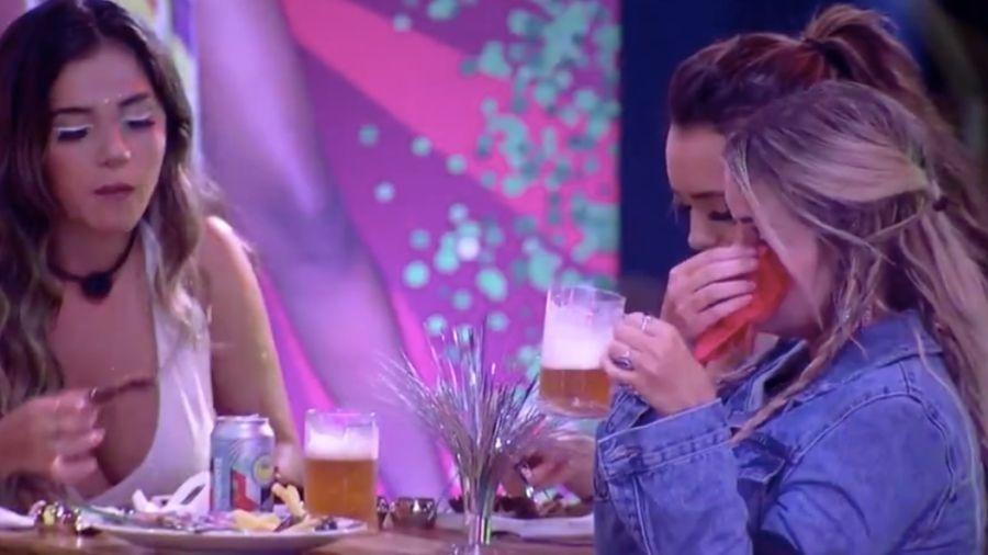 BBB 20: Marcela chora na festa da líder Thelma - Reprodução/Globoplay