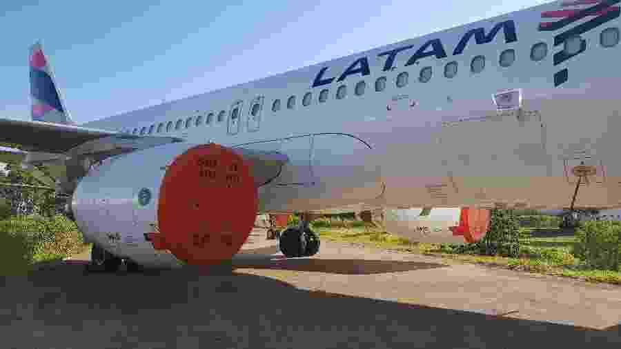 Aeronave da Latam - Divulgação