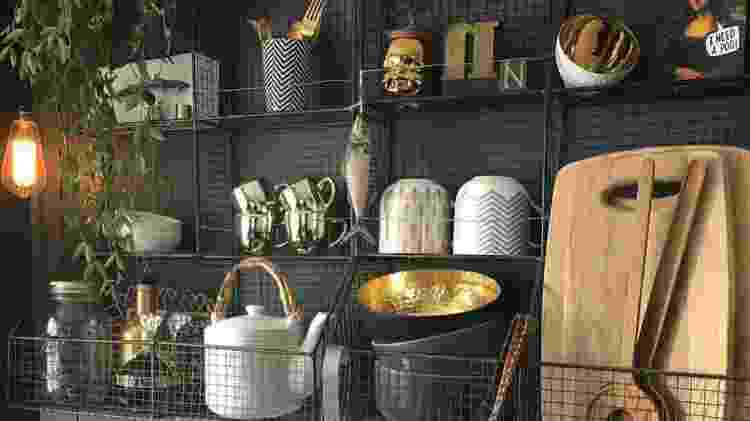 Decoração cozinha - Reprodução/Pinterest - Reprodução/Pinterest