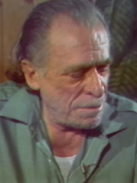 "O escritor Charles Bukowski em cena de ""You Never Had It ? An Evening with Bukowski"" - Reprodução"