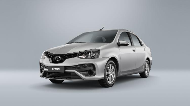 Toyota Etios 2021 ganha nova multimídia e mudança no ...