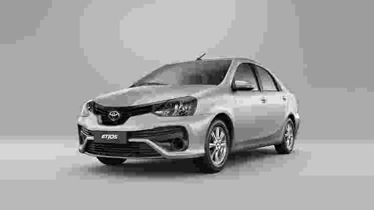 Toyota Etios 2021 - Divulgação - Divulgação