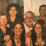 """Ana Maria mostrou fotos inéditas de Tom Veiga durante o """"Mais Você"""" de hoje - Reprodução / TV Globo"""