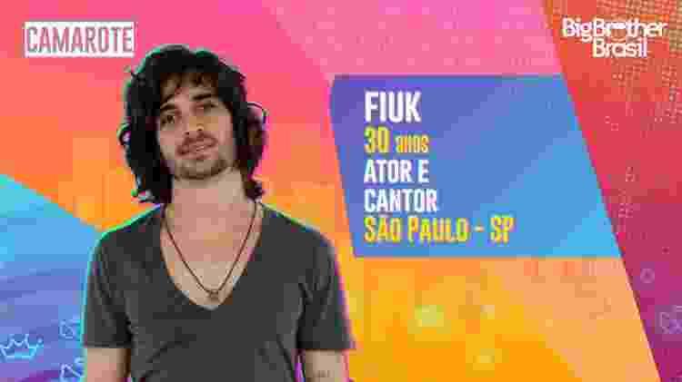 Fiuk no BBB 21 - Divulgação - Divulgação