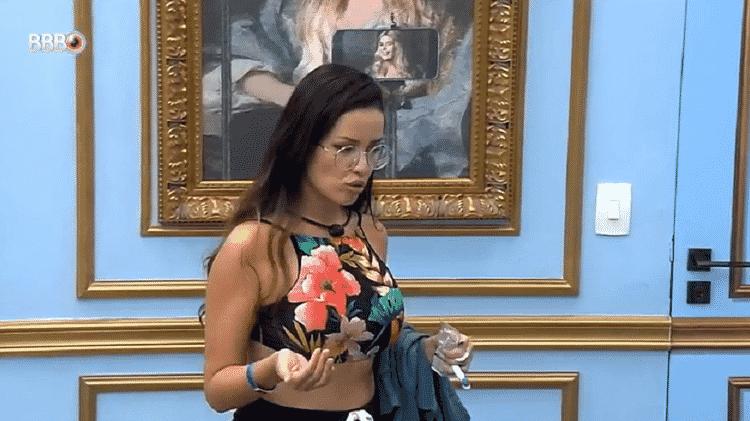 BBB 21: Juliette diz que causou climão por querer com Viih Tube e Thaís - Reprodução/Globoplay - Reprodução/Globoplay