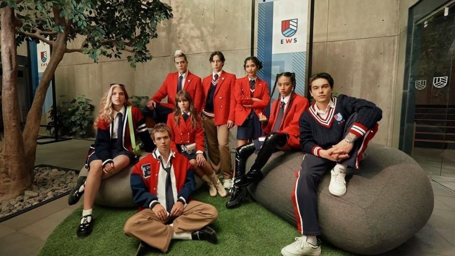 """Elenco de """"Rebelde"""" na Netflix inclui a brasileira Giovanna Grigio - Netflix/Reprodução"""