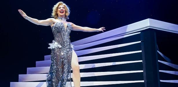 """Claudia Raia em cena do espetáculo """"Raia 30 - O Musical"""" - Manuela Scarpa/Photo Rio News"""
