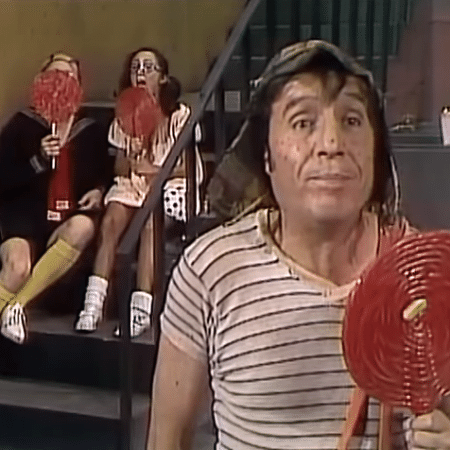 """Cena de """"Chaves"""", humorístico mexicano reprisado pelo SBT - Reprodução"""
