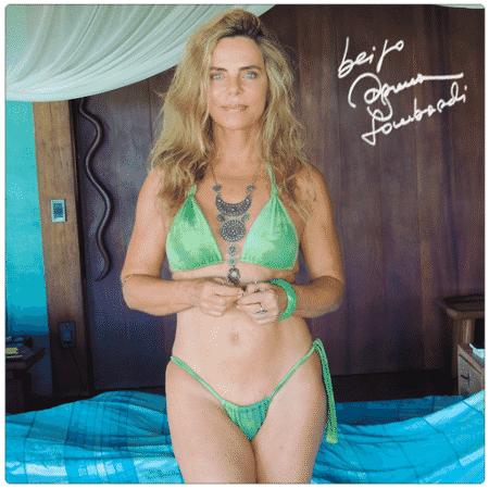 Bruna Lombardi prova que mantém a boa forma aos 64 anos - Reprodução/Facebook