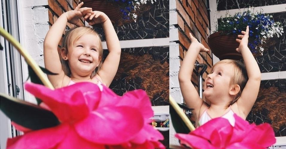 A ideia de Alya Chaglar tem dado certo, o perfil dela e da filha já acumula quase 40 mil seguidores no Instagram