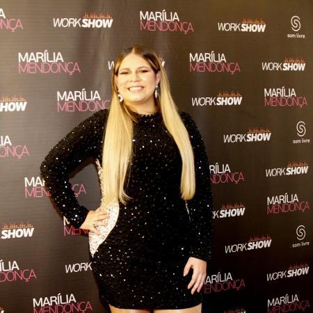 A cantora Marília Mendonça - Marcos Ferreira/Brazil News