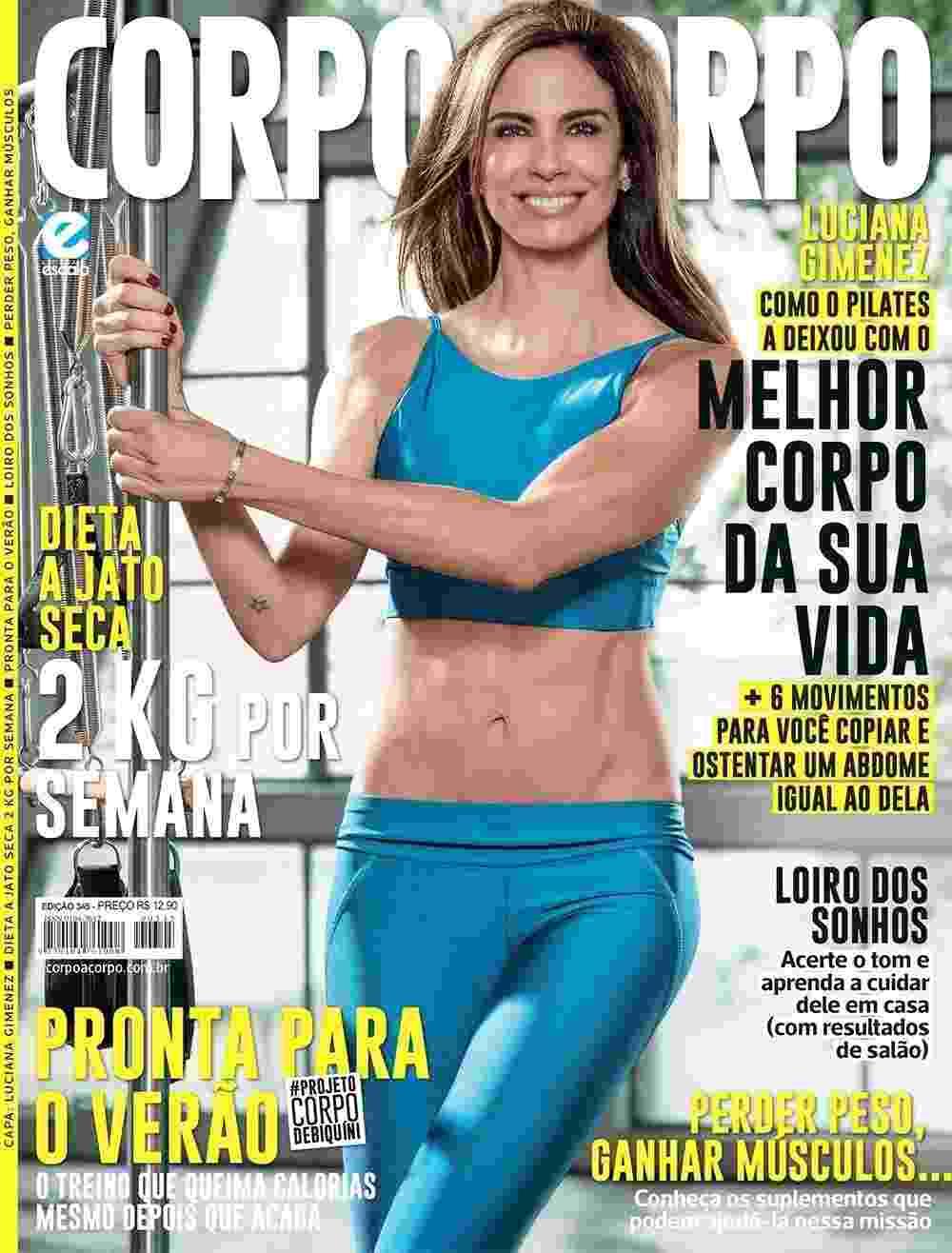 """A apresentadora Luciana Gimenez contou à revista """"Corpo a Corpo"""" os segredos para manter a boa forma. """"Eu realmente nunca parei de treinar. Não me cuidava apenas quando o verão estava próximo. Sempre tive essa preocupação, tanto pela saúde quanto pelo meu bem-estar,"""" diz. - Danilo Borges"""