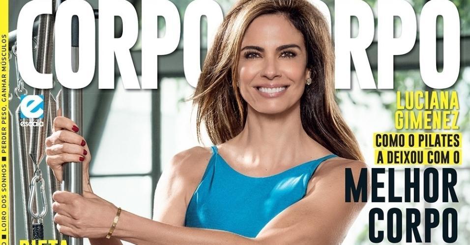 """A apresentadora Luciana Gimenez contou à revista """"Corpo a Corpo"""" os segredos para manter a boa forma. """"Eu realmente nunca parei de treinar. Não me cuidava apenas quando o verão estava próximo. Sempre tive essa preocupação, tanto pela saúde quanto pelo meu bem-estar,"""" diz."""