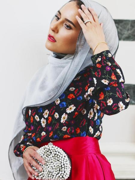 A influenciadora muçulmana Dina Tokio - Reprodução/Instagram/dinatokio