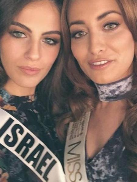 Registro de amizade entre miss Iraque e miss Israel gera polêmica - Reprodução/Instagram