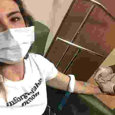 Luciana Gimenez recebe medicamente em hospital - Reprodução/Instagram