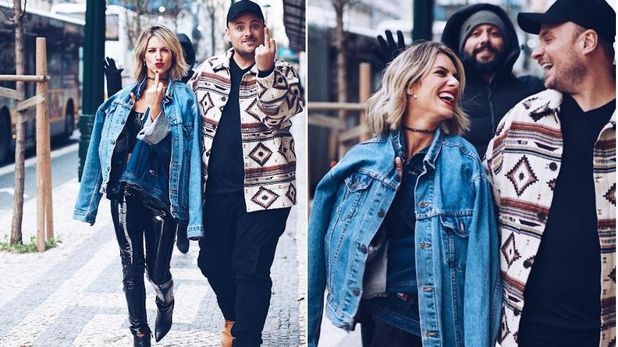 Giovanna Ewbank e Leo Fuchs - Reprodução/Instagram