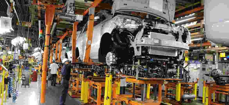 Fábrica da GM em São Caetano do Sul produz Chevrolet Spin (foto), Joy, Joy Plus, Tracker e Montana; funcionários aprovaram participação em PDV - Divulgação