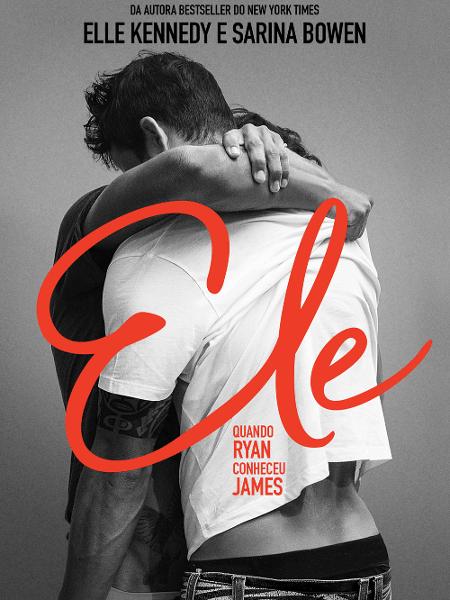 Ele: quando Ryan conheceu James - Divulgação/Companhia das Letras