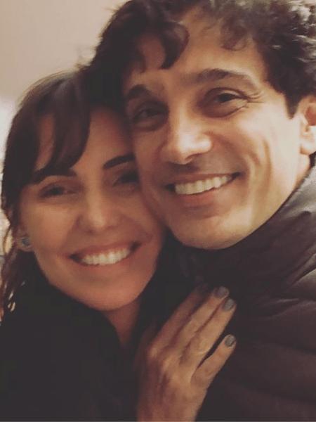 Glenda Kozlowski e o marido, Luis Tepedino - Reprodução/Instagram