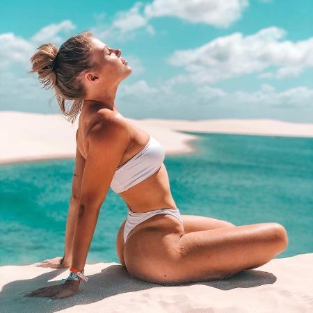 Luisa Sonza posa nos Lençóis Maranhenses - Reprodução/ Instagram