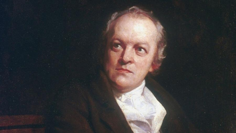 O poeta William Blake - Reprodução