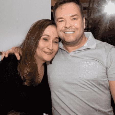 Sonia Abrão e Felipeh Campos - Reprodução/Instagram