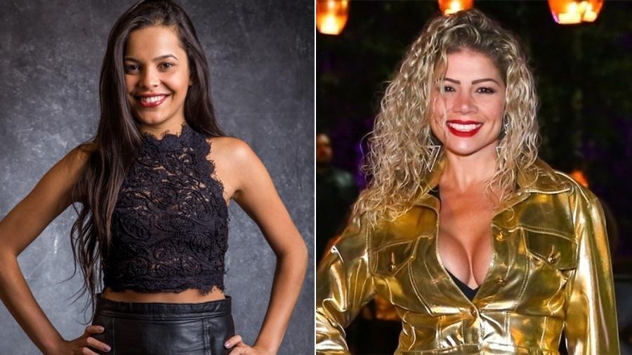 """Irmã de Emily, Mayla Araújo, do """"BBB17"""", e Cátia Paganote estarão em """"A Fazenda 10"""" - Divulgação/TV Globo/Brazil News"""