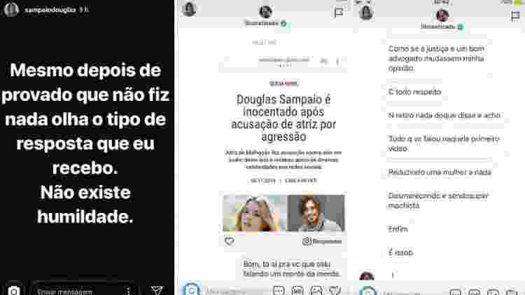Douglas Sampaio discute no Instagram com Cadu Libonati - parte 1 - Reprodução/Instagram - Reprodução/Instagram