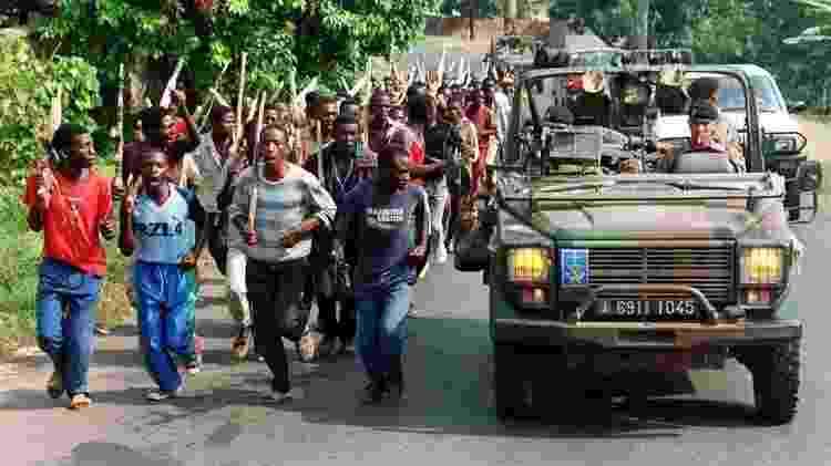 Os hutu eram a maioria em Ruanda, mas os tutsis tiveram por décadas acesso a melhores oportunidades - AFP - AFP