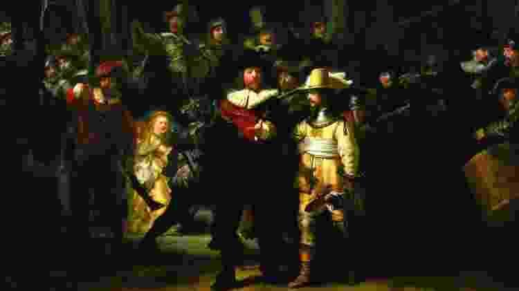 """Quadro """"A Ronda Noturna"""", de Rembrandt - Divulgação/Holland Alliance - Divulgação/Holland Alliance"""
