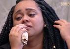 Rízia chora após desistência da prova: