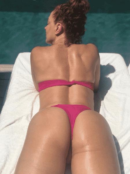 Claudia Raia renova o bronzeado - Reprodução/Instagram