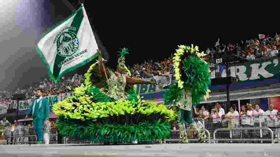 Mancha Verde encenou a escravidão no Anhembi e foi campeã do Carnaval de São Paulo - Simon Plestenjak/UOL