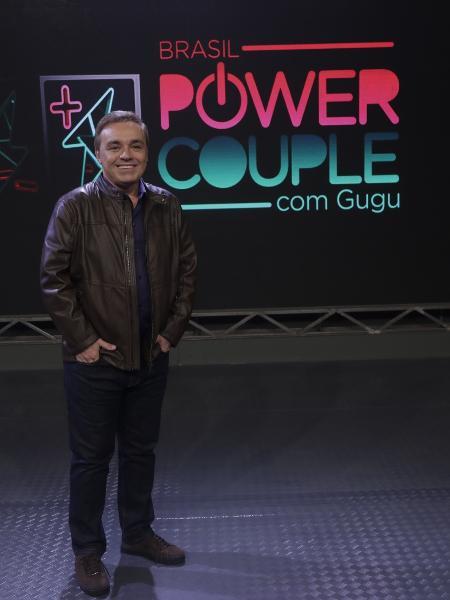 "Gugu Liberato apresenta o ""Power Couple"" - Antonio Chahestian/RecordTV"