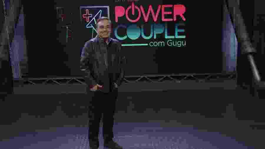 "Gugu Liberato, muito bem, no ""Power Couple"" da Record - Antonio Chahestian/RecordTV"