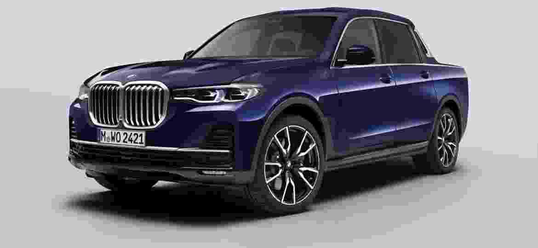 Picape derivada do BMW X7 não será fabricada em série - Divulgação