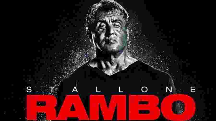 Pôster de Rambo 5 - Divulgação