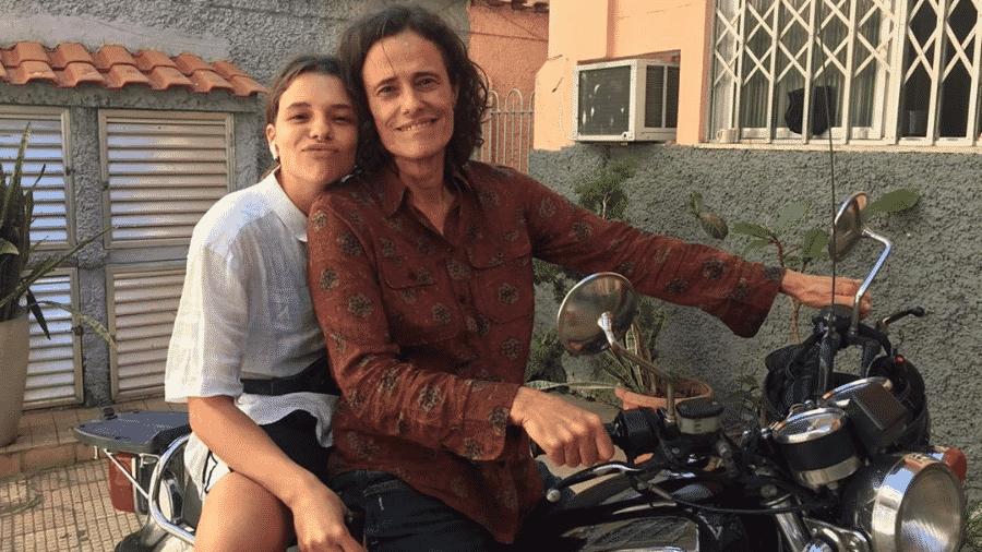 """Bruna Linzmeyer e Zélia Duncan nas filmagens de """"Uma Paciência Selvagem me Trouxe Até Aqui"""" - Reprodução/Instagram/brunalinzmeyer"""