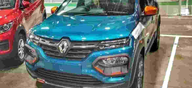 Kwid ganhou cara nova no mercado indiano; inspiração foi o elétrico K-ZE - Reprodução/Autocar India