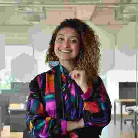 a jornalista Vivi Duarte - Arquivo Pessoal